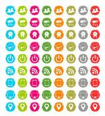 Set of web icons — Stock Photo