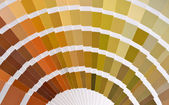 View of pantone color catalog — Stock Photo