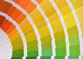 Pantone color catalog — Stock Photo