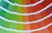 Pantone colors catalog — Stock Photo
