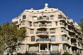 Casa Mila, La Pedrera in Barcelona — Stock Photo