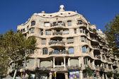 Casa mila oder la pedrera in barcelona, spanien — Stockfoto
