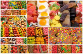 Candy and sweet pastry — Stock Photo