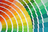 Color catalog — Stock Photo