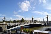 The Alexander Bridge in Paris — Stock Photo
