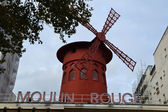 Moulin Rouge in Paris, France — Stock Photo