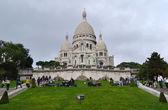 Basilique of Sacre Coeur in Paris, France — Stock Photo