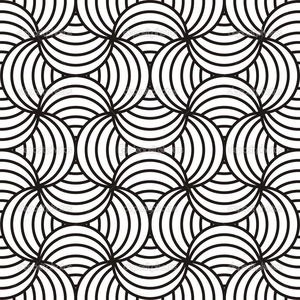 Abstract Black White Design Stock Vector Dustbinman