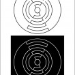 Circle design 4.cdr — Foto Stock