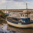 Stock Photo: Old fishing boat