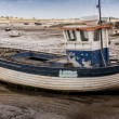 Stock Photo: Old wooden fishing boat