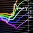 Stock Photo: Foreign exchange market chart