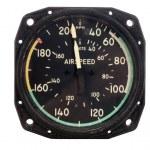 Airspeed indicator — Stock Photo #10478154