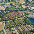 Aerial image of Urban Sprawl — Stock Photo