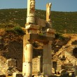 Ruins of the ancient Greek city Ephesus — Stok fotoğraf