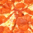 Stock Photo: Peperoni pizza