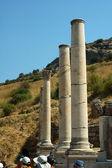 Columns in the Roman city of Ephesus — Stock Photo