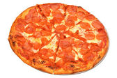 Peperoni pizza — Stockfoto
