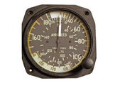 Antique aviation instrument — Stock Photo