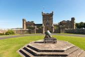Cannone al culzean castle — Foto Stock