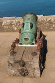 1773 cannone al culzean castle — Foto Stock