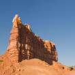 Sandstone rock outcrops — Stock Photo