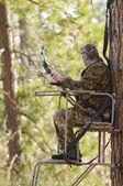 Bow hunter — Stock Photo