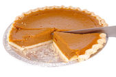 Pumkin pie — Stock Photo