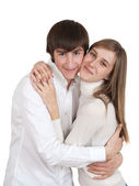 Young happy couple — Stock Photo
