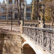 Stock Photo: Bridges, buildings, Kislovodsk