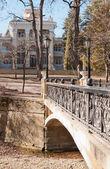 Bridges, buildings, Kislovodsk — Stock Photo