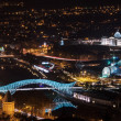 Night Tbilisi — Stock Photo