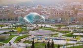 Peace Bridge in Tbilisi — Stock Photo