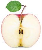Cut half an Apple — Stock Photo