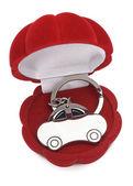 Klíčenka auto — Stock fotografie
