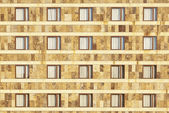 Gevel van simetric windows — Stockfoto