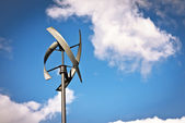Little wind turbine — Stock Photo