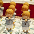 First communion dolls — Stock fotografie