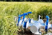 Irrigation keys — Stock Photo