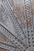 Background of the oxidized and rusty machine — Stock Photo