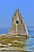 Cambados ruined tower , Galicia, Spain — Photo