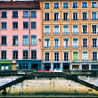Residential buildings, France — Stock Photo