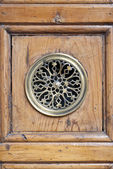 Door peephole — Stock Photo
