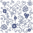 Doodles design elements - Stock Vector