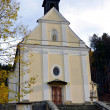 Place of pilgrimage - church on Malenisko — Stockfoto