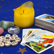 Items for divination - Stock Photo