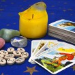 Stock Photo: Items for divination