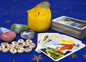 Items for divination — Stock Photo