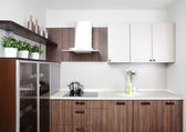 Modern kitchen in european style — Stock Photo