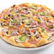 Hot and tasty italian pizza — Stock Photo